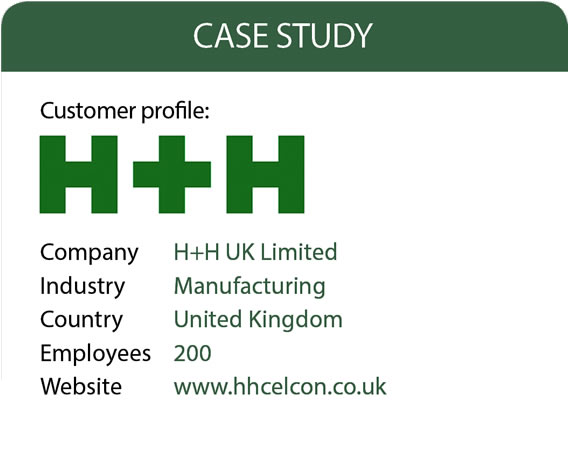Manufacturer H+H drives growth with easier IT Management